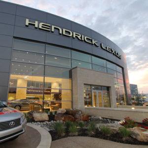 Hendrick Lexus front